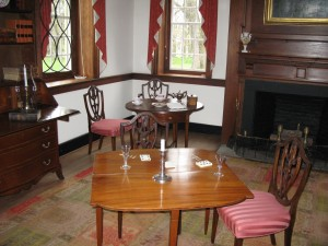 colonial card table